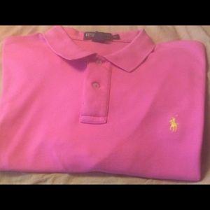 Ralph Lauren Polo short Sleeve Shirt Size XL Men